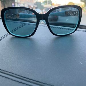 Tiffany & Co. Accessories - Tiffany & Co. Black Blue/Azue Gradient Lens